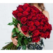 Роза премиум 70 см Эквадор