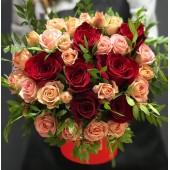 Бочонок С любовью из роз