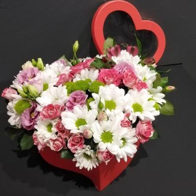 Коробка-сердце Романтика