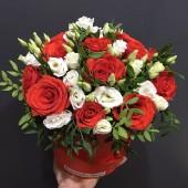 "Цилиндр с цветами ""Богема"""