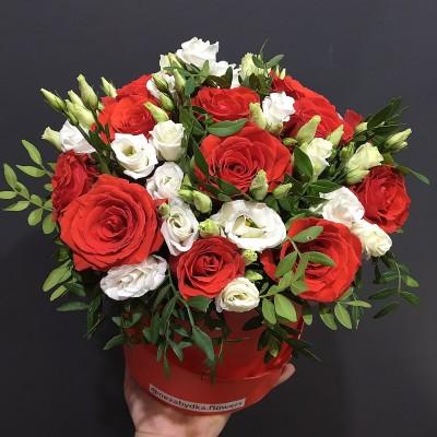 Цилиндр с цветами Богема