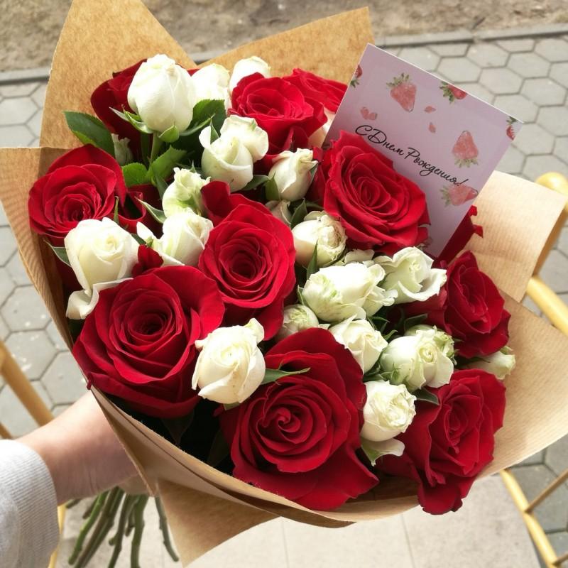 нашей фото букет роз от любимого вот какие