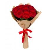"Букет ""11 роз"" 60-65 см Эквадор в крафте"