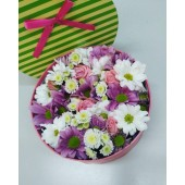 Цветы в коробке №12