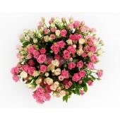 Роза кустовая (разные цвета)