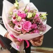 Букет Тайное желание с пионовидными розами