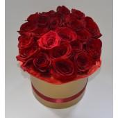Цилиндр 21 роза