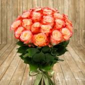 25 роз премиум Cabaret 60 см