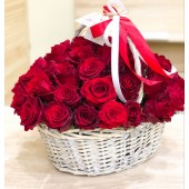"Корзина ""51 красная роза"""