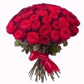 Букет 35 красных роз Эквадор