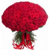 """Букет """"201 красная роза"""" 60 см"""