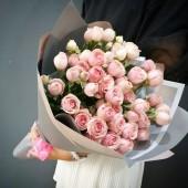 Букет Налани из пионовидных роз