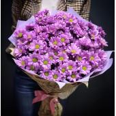 """Букет """"Розовые ромашки"""" из 11 шт"""